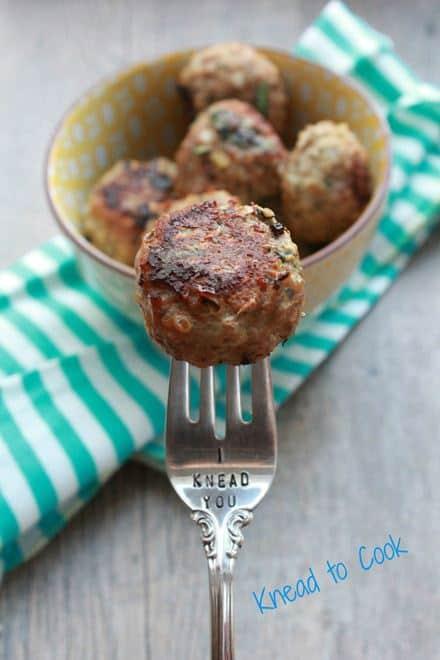 Quinoa Turkey Meatballs - WendyPolisi.com