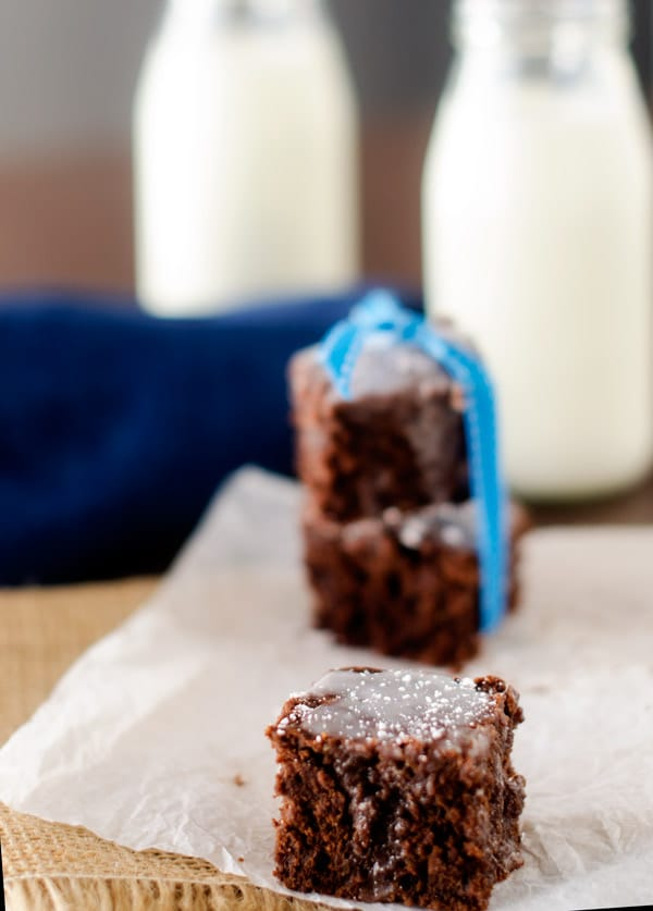 Mint Quinoa Brownies