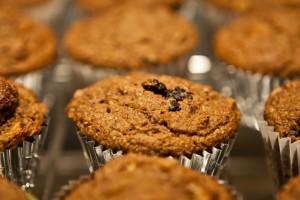 Peach Quinoa Muffins - Wendy Polisi
