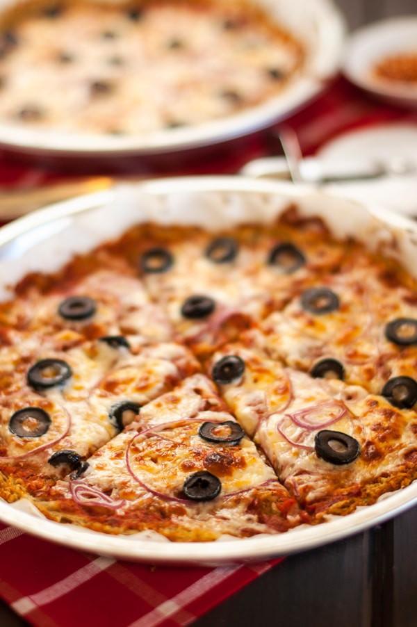 Pizza with Potato Quinoa Crust - WendyPolisi.com