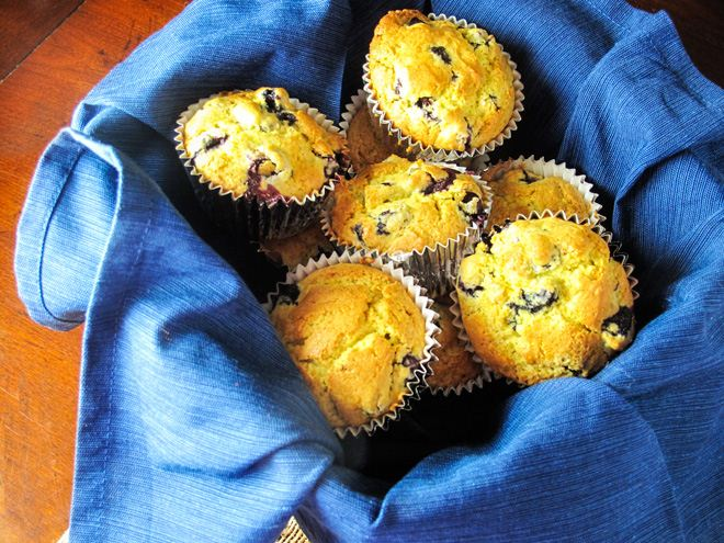 Blueberry Quinoa Muffins - WendyPolisi.com