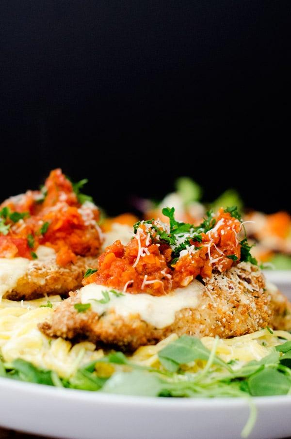 Quinoa Crusted Chicken Parmesan - WendyPolisi.com