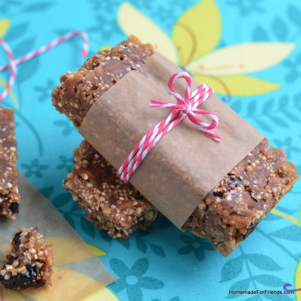Quinoa Protein Power Bars