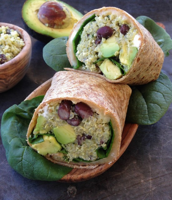 quinoa-wrap-with-black-beans-feta-and-avocado-640x640