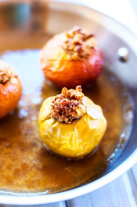 Quinoa Baked Apples - WendyPolisi.com