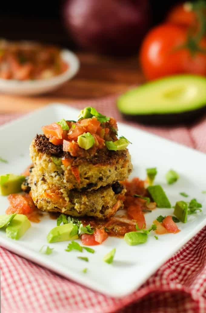 Southwestern Quinoa Patties