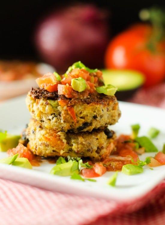 southwestern-quinoa-patties