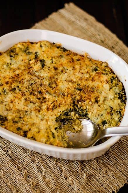 Spinach Artichoke Quinoa Casserole - WendyPolisi.com