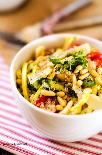Summer Veggie Quinoa Bowl - WendyPolisi.com