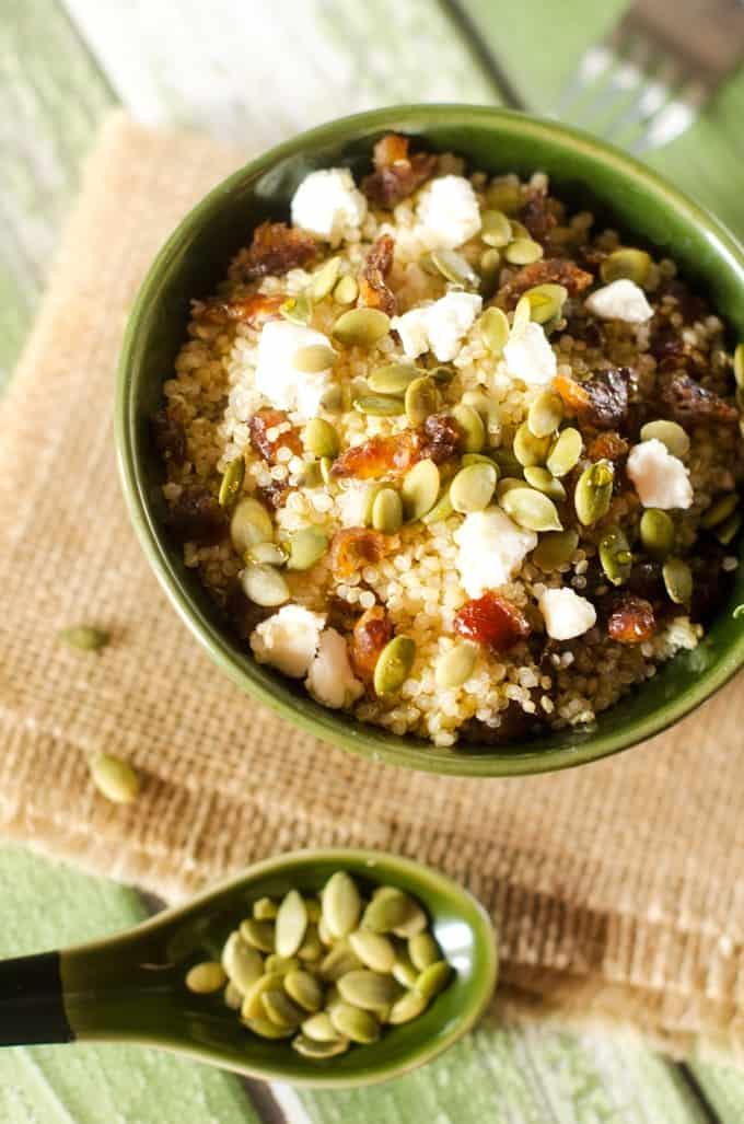 Sweet & Savory Quinoa Breakfast Bowls - WendyPolisi.com