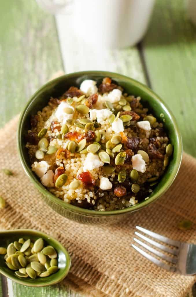 Sweet & Savory Quinoa Breakfast Bowls