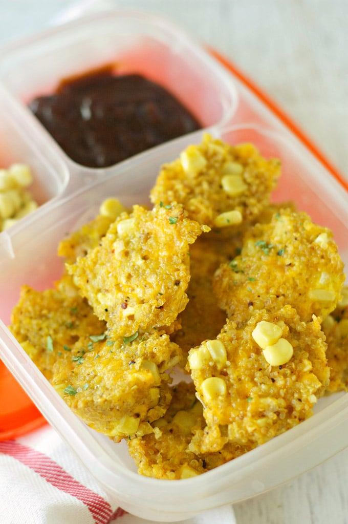 BBQ Chicken Quinoa Bites