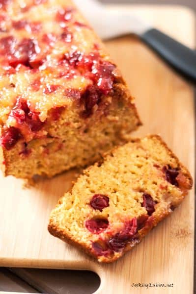 Cranberry & Quinoa Bread - WendyPolisi.com