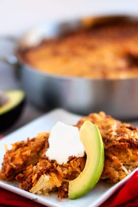 Hash Brown & Quinoa Casserole - WendyPolisi.com