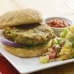 Pesto-Veggie-Burgers