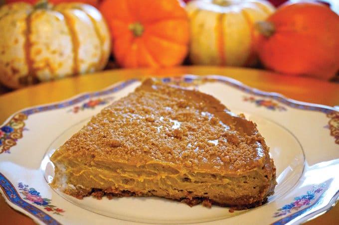Pumpkin Spice Cheesecake 1