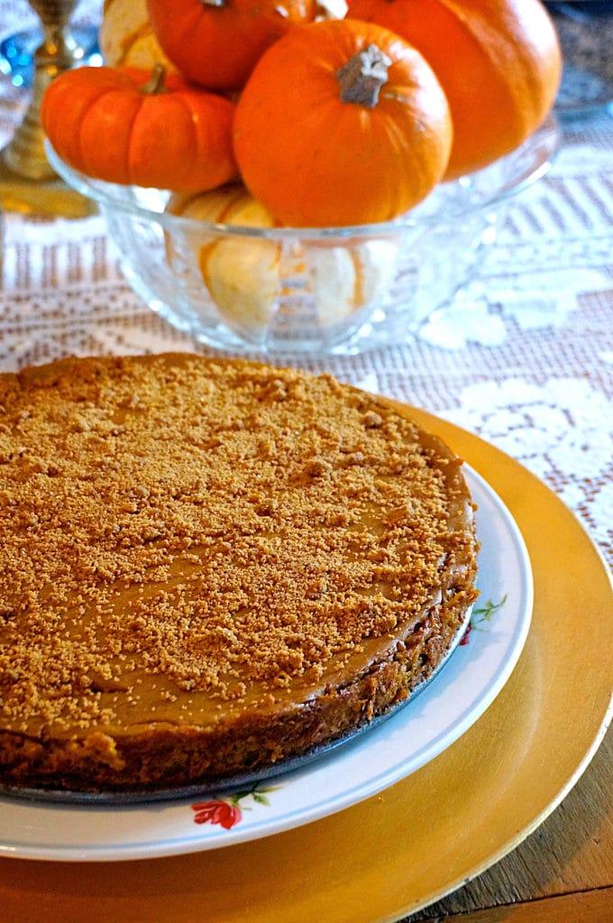 Pumpkin Spice Cheesecake 2