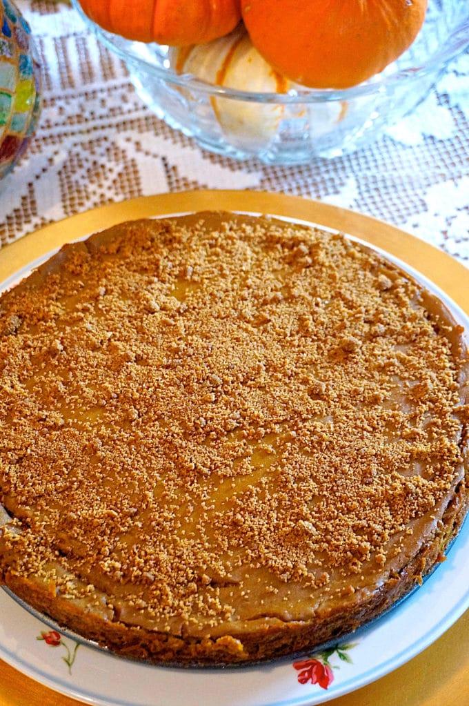 Pumpkin Spice Cheesecake 3