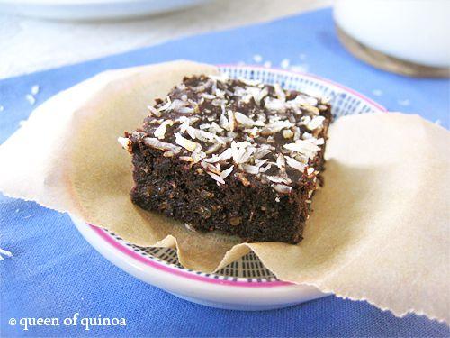 Fudgy Quinoa Brownies