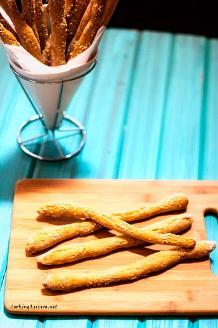 Quinoa Flour Breadsticks