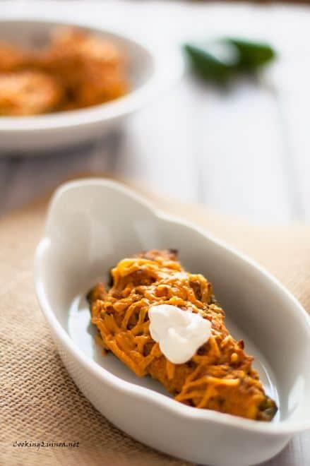 Quinoa & Cornbread Stuffed Poblano Peppers
