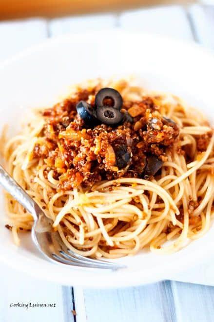 Quinoa & Spaghetti