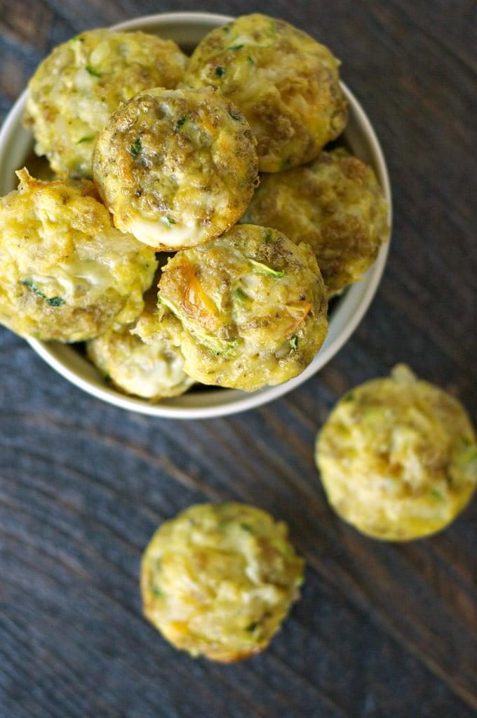 SSneaky Veggie Quinoa Breakfast Bites