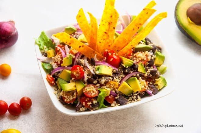 Tortilla Quinoa Salad