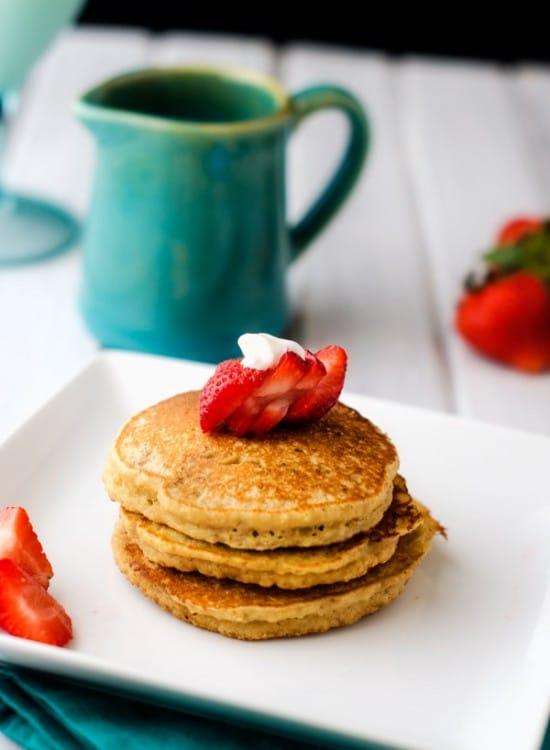 Almond Flour Quinoa Pancakes