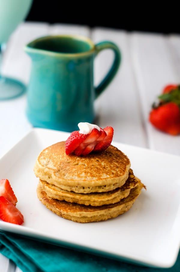 Almond Flour Quinoa Pancakes - WendyPolisi.com