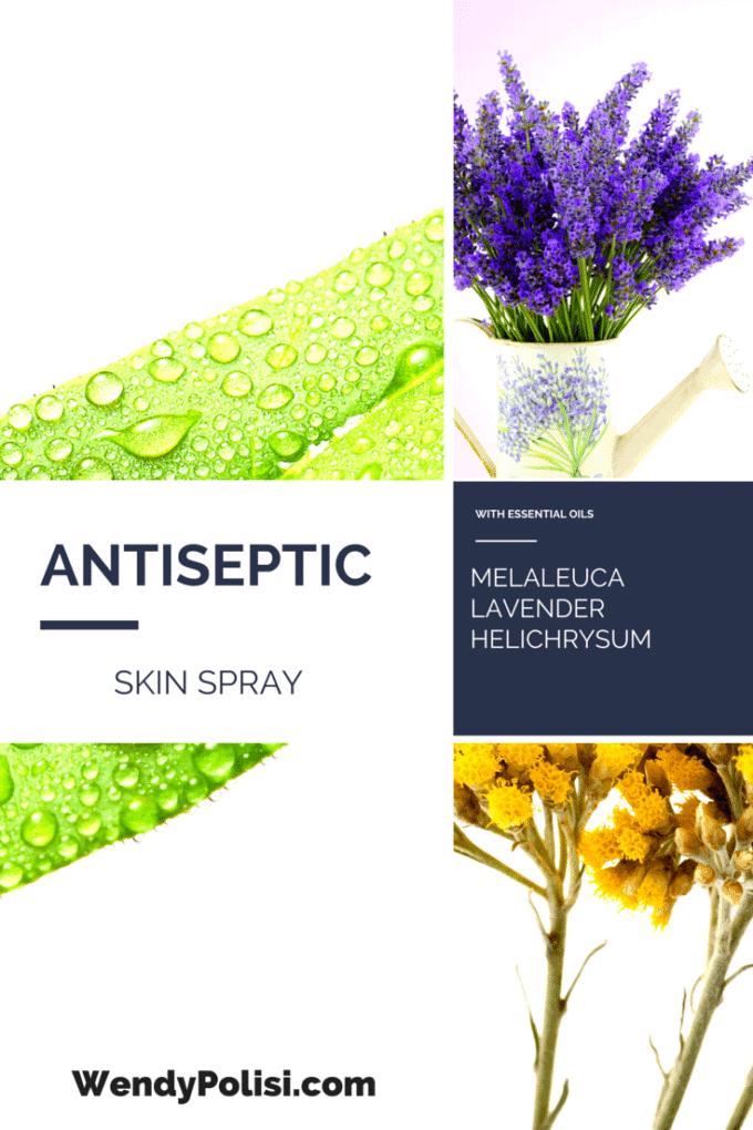 DIY Antiseptic Skin Spray