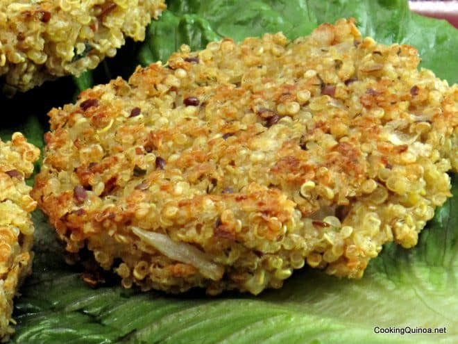 ... to do with quinoa, or more specifically these baked quinoa patties
