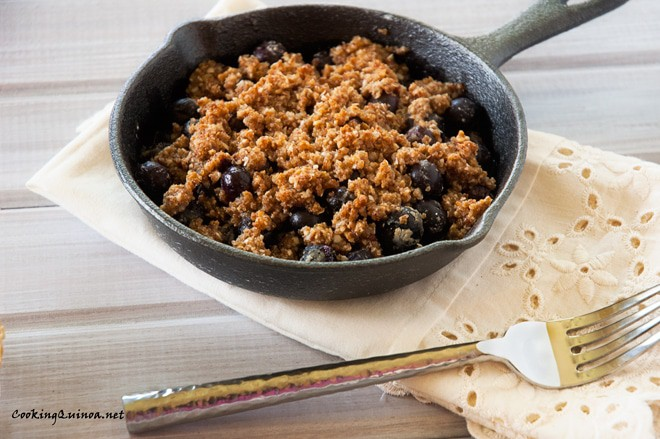 Blueberry Quinoa Crumble
