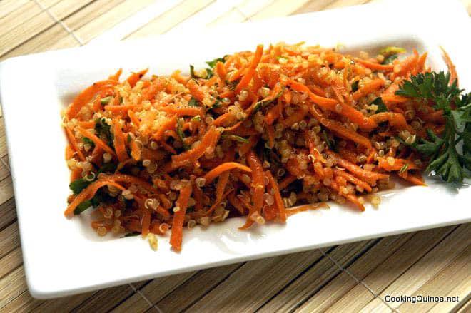 Carrot Quinoa Slaw