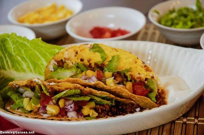 Chipotle Quinoa Tacos