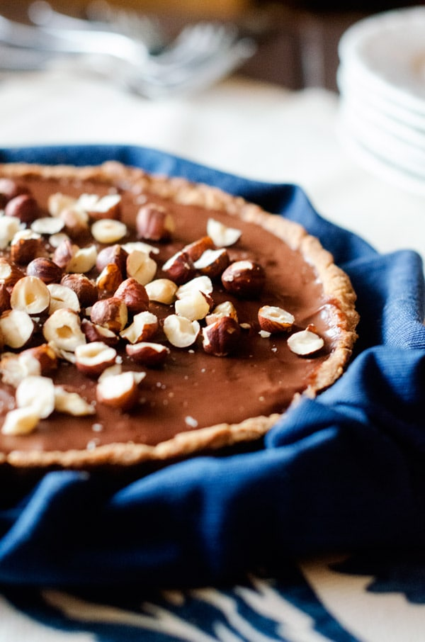 chocolate-hazelnut-tart