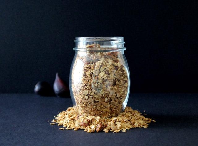 Fig Coconut Quinoa Granola