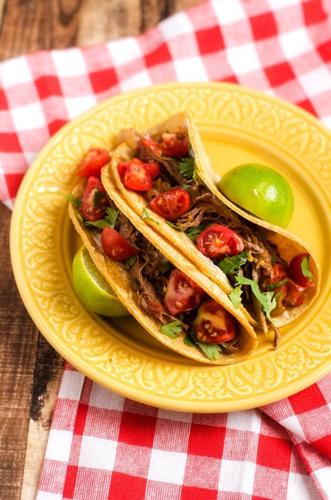 Slow Cooker Beef Fajitas - WendyPolisi.com