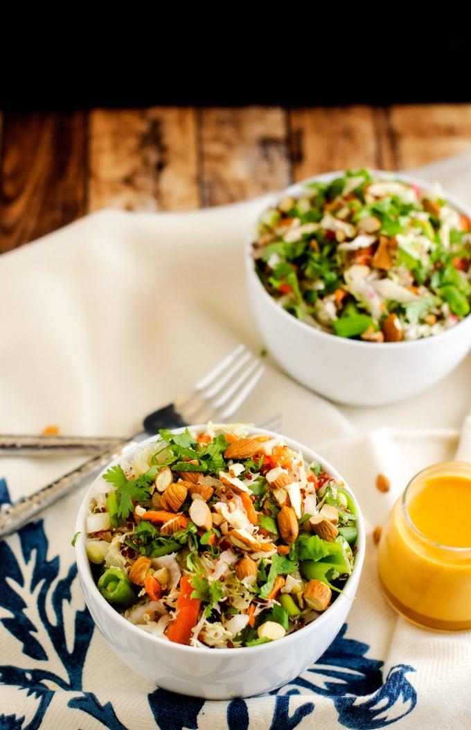 Crunchy Asian Quinoa Salad - WendyPolisi.com