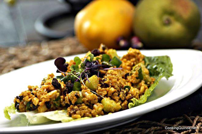 Curried Chicken & Quinoa Salad