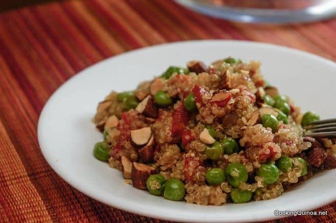Easy Quinoa Pilaf - Wendy Polisi