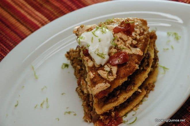 Enchilada Quinoa Casserole - WendyPolisi.com