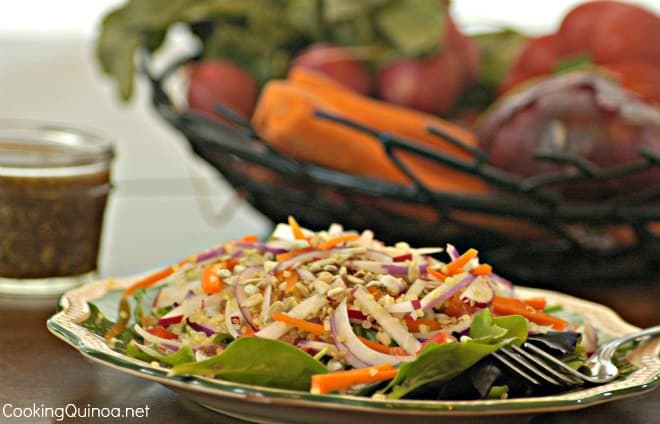 Farmer's Market Quinoa Salad - Wendy Polisi