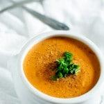 garlic-tomato-quinoa-soup