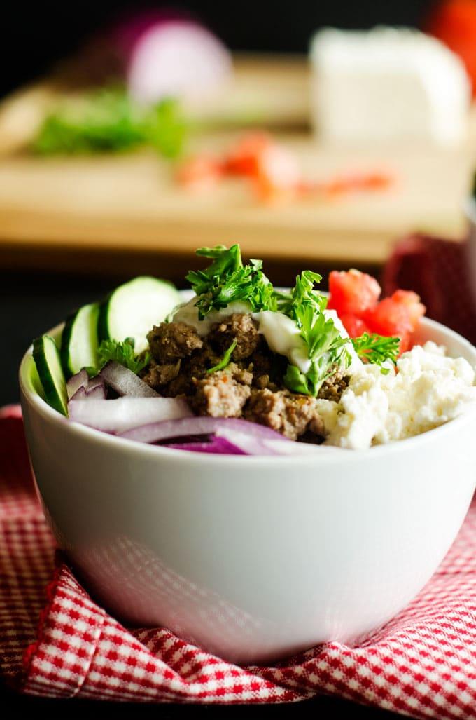 Gyro Quinoa Bowl