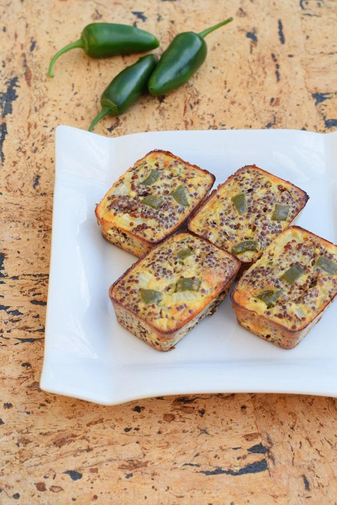 Jalapeno Quinoa Bites