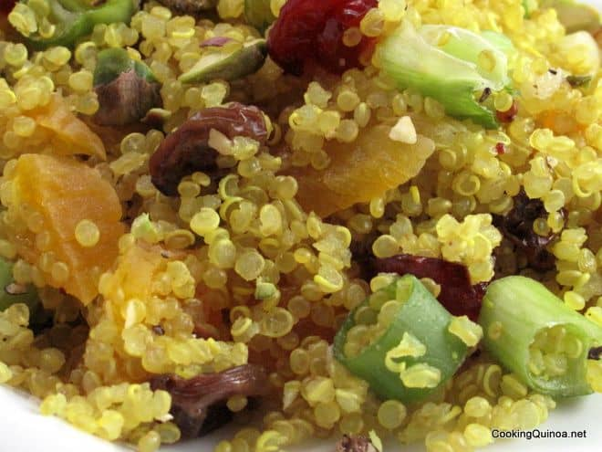 Jeweled Quinoa Salad