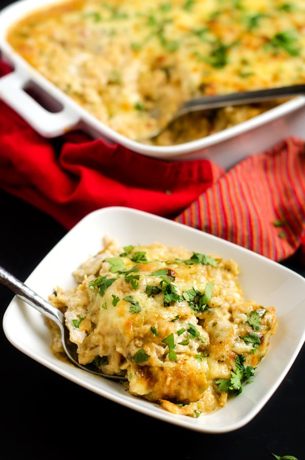 King Ranch Chicken Quinoa Casserole