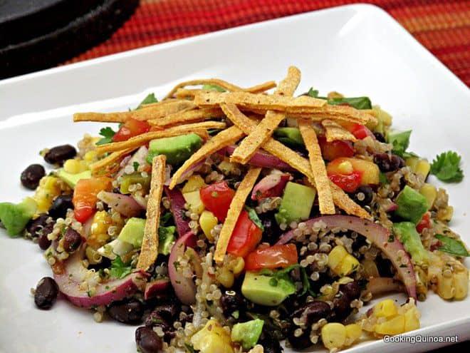 Mexican Quinoa Salad - Wendy Polisi