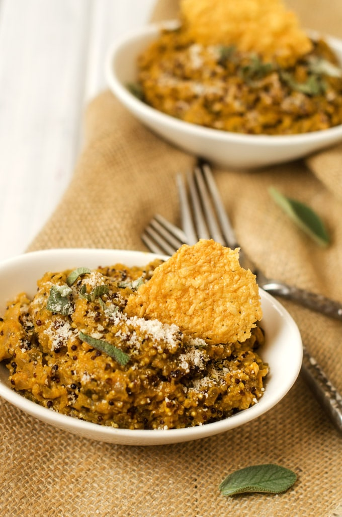Pumpkin Quinoa Risotto